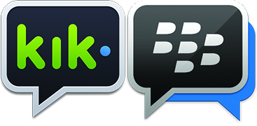 bbm or kik