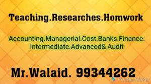 Accounting - Walid - 99344262